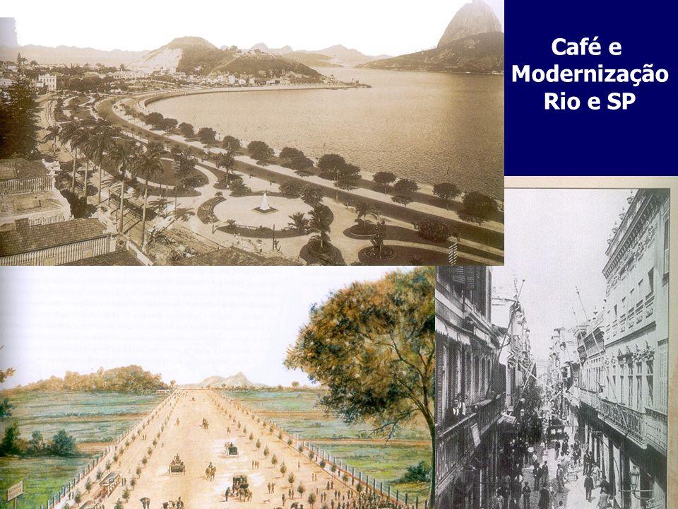 Café e Modernização Rio e SP