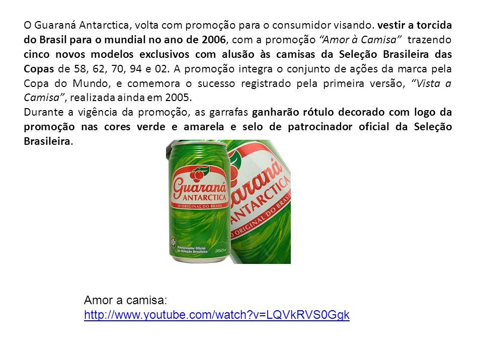 O Guaraná Antarctica, volta com promoção para o consumidor visando
