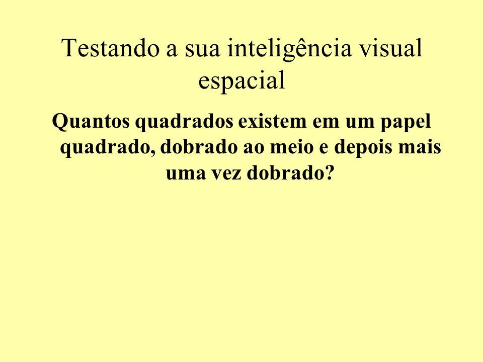 Testando a sua inteligência visual espacial