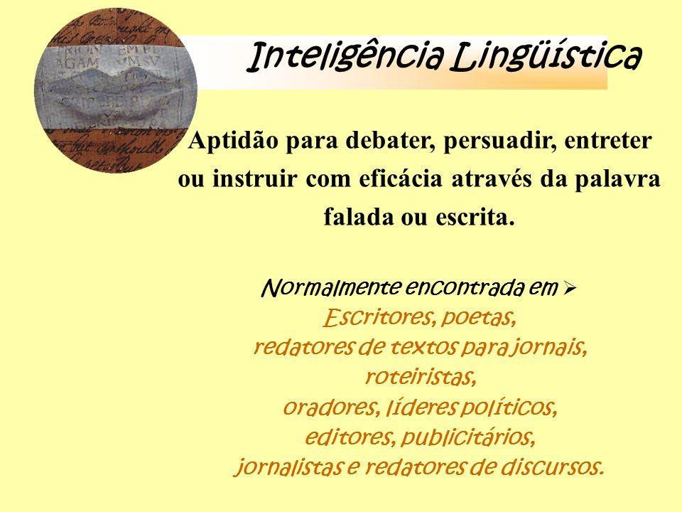 Inteligência Lingüística