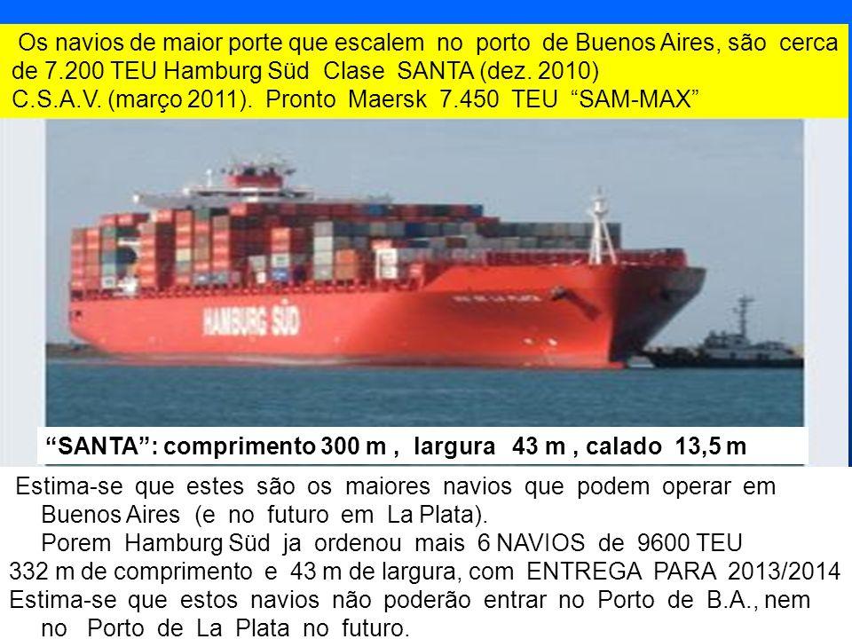 C.S.A.V. (março 2011). Pronto Maersk 7.450 TEU SAM-MAX