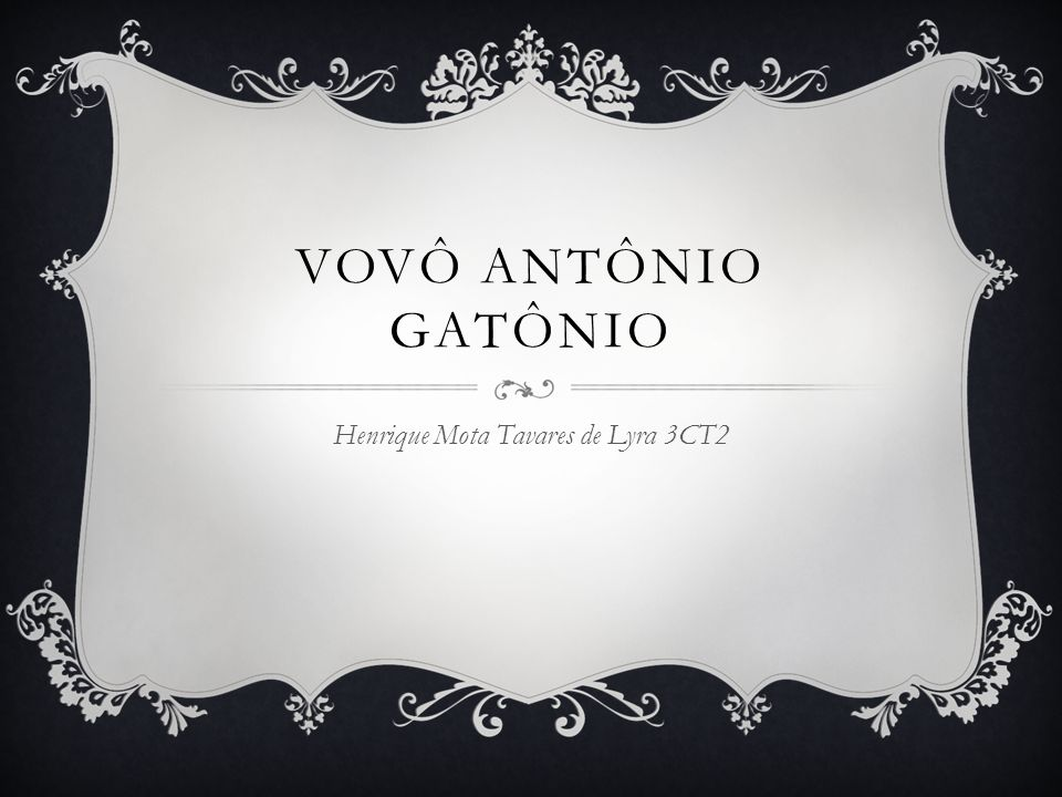 Henrique Mota Tavares de Lyra 3CT2