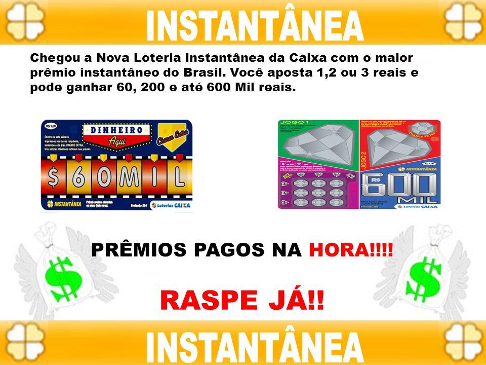 INSTANTÂNEA RASPE JÁ!! INSTANTÂNEA INSTANTÂNEA