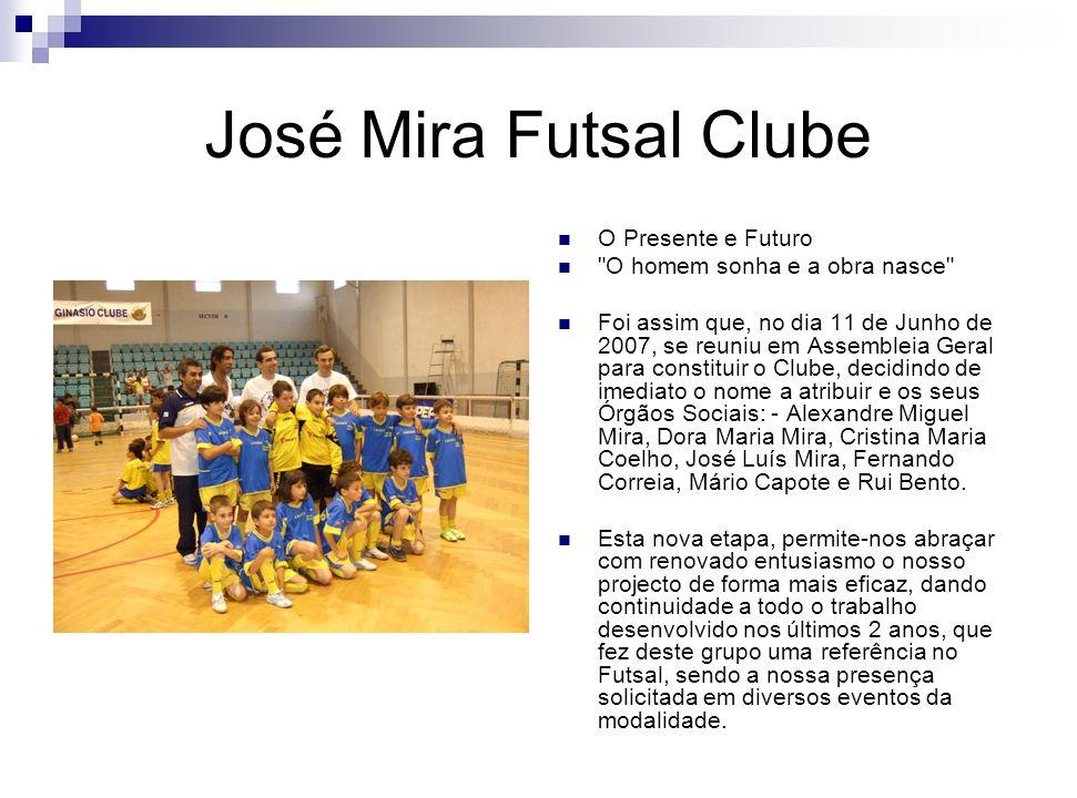 José Mira Futsal Clube O Presente e Futuro
