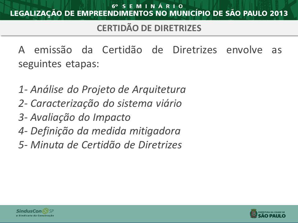 CERTIDÃO DE DIRETRIZES