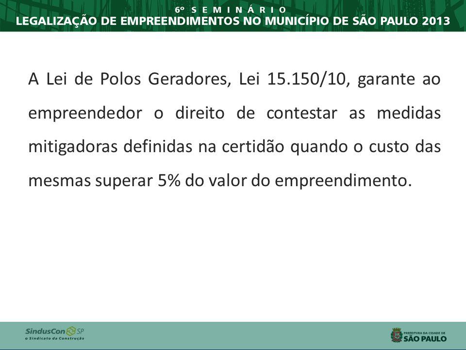 A Lei de Polos Geradores, Lei 15