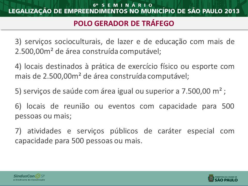 POLO GERADOR DE TRÁFEGO