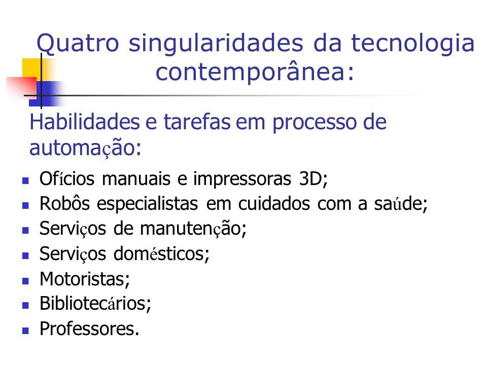 Habilidades e tarefas em processo de automação: