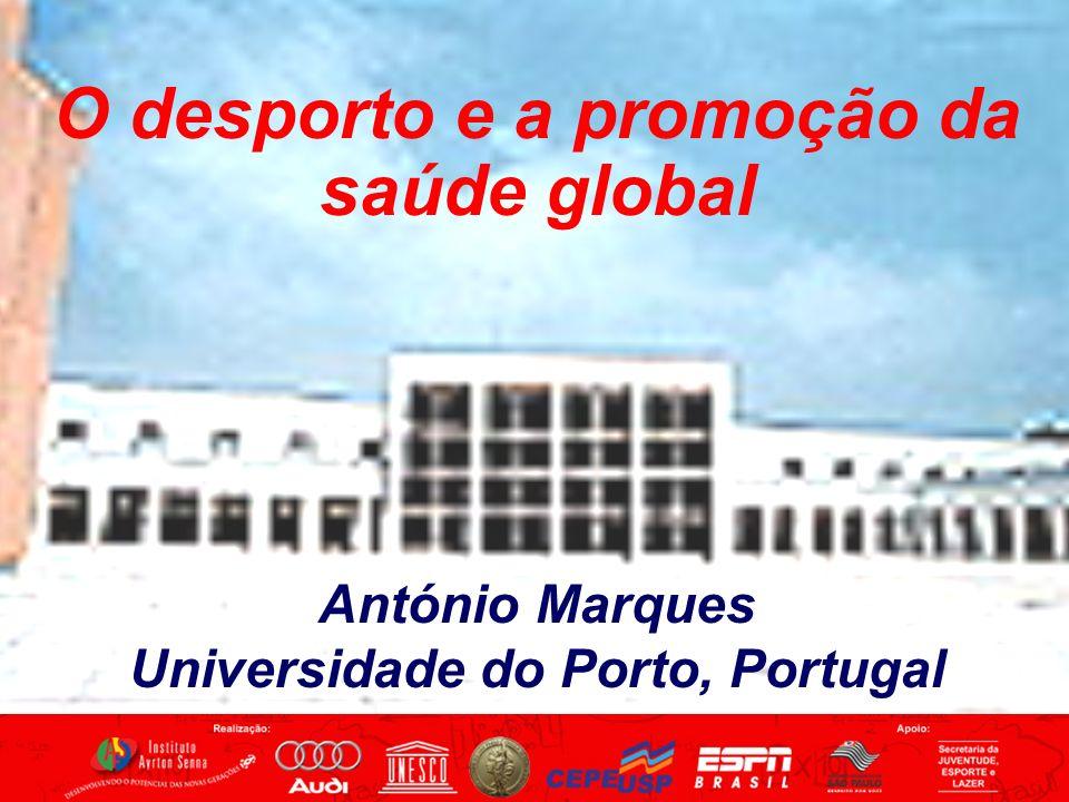 O desporto e a promoção da saúde global