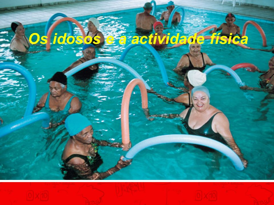 Os idosos e a actividade física