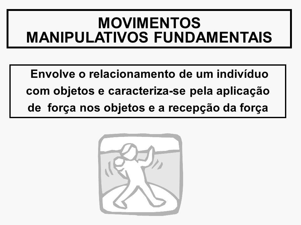 MOVIMENTOS MANIPULATIVOS FUNDAMENTAIS