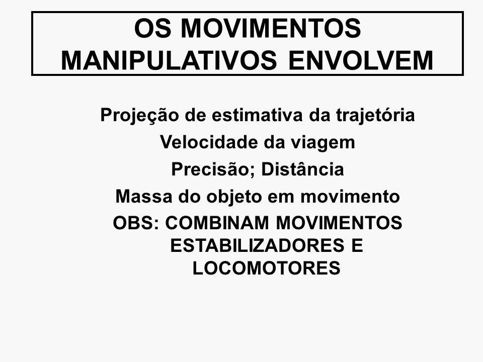 OS MOVIMENTOS MANIPULATIVOS ENVOLVEM