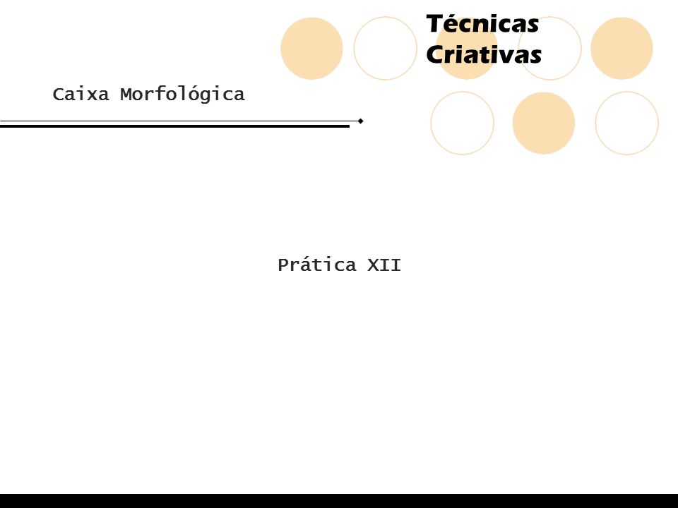Caixa Morfológica Prática XII