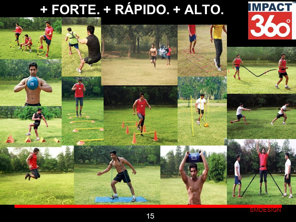 + FORTE. + RÁPIDO. + ALTO. 15 OR MAIS FORTE. MAIS RÁPIDO. MAIS ALTO