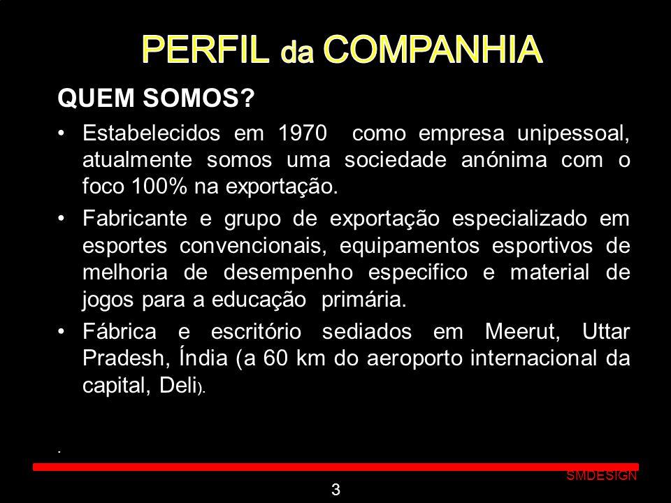PERFIL da COMPANHIA QUEM SOMOS