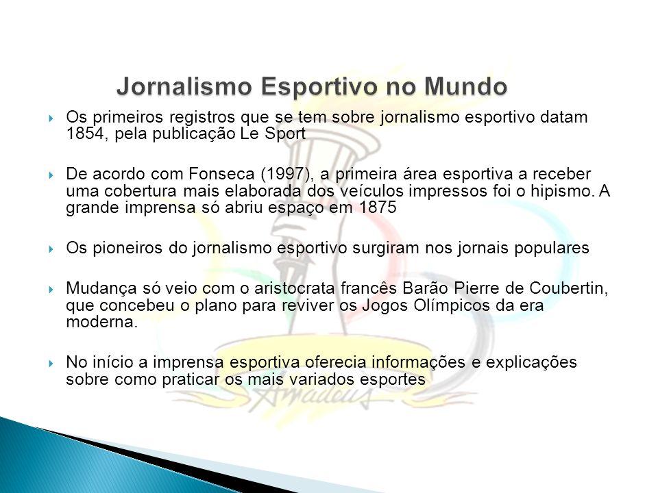 Jornalismo Esportivo no Mundo
