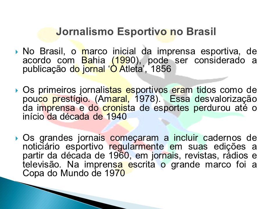 Jornalismo Esportivo no Brasil