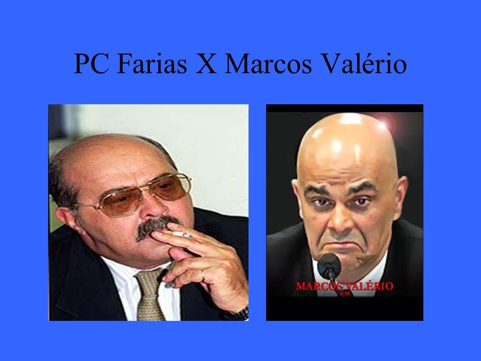 PC Farias X Marcos Valério