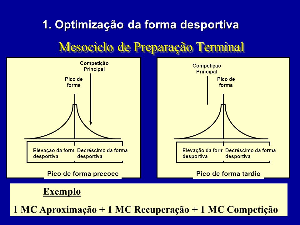 Mesociclo de Preparação Terminal