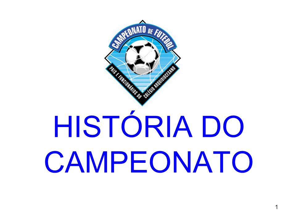 HISTÓRIA DO CAMPEONATO