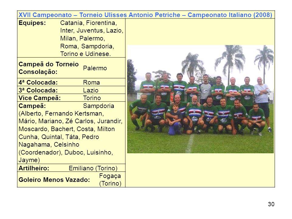 Campeã do Torneio Consolação: Palermo