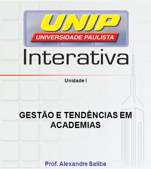 GESTÃO E TENDÊNCIAS EM ACADEMIAS