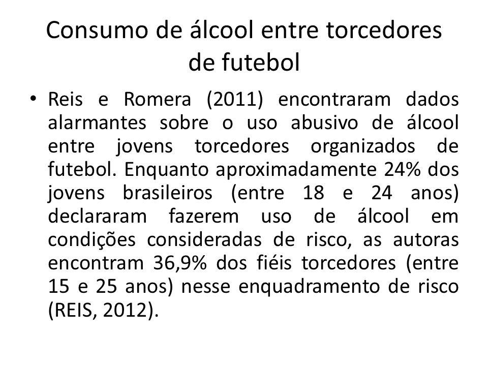 Consumo de álcool entre torcedores de futebol