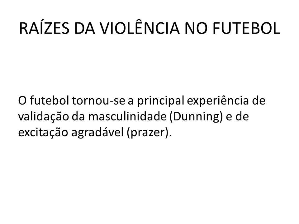 RAÍZES DA VIOLÊNCIA NO FUTEBOL