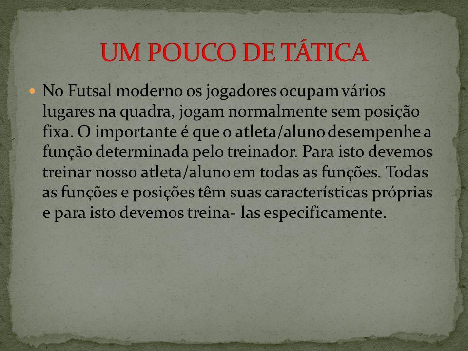 UM POUCO DE TÁTICA