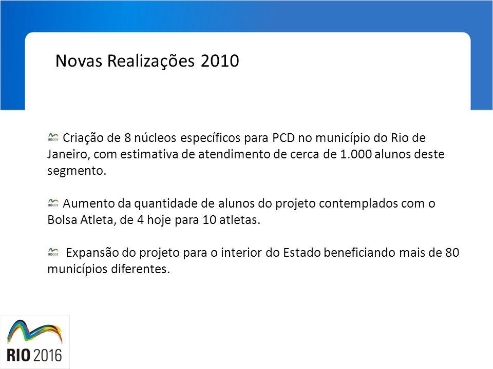 Novas Realizações 2010