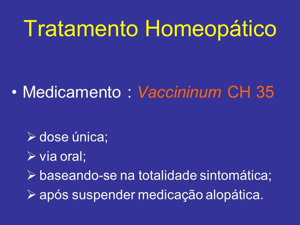 Tratamento Homeopático