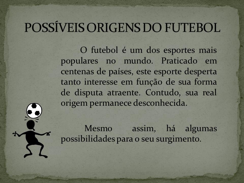 POSSÍVEIS ORIGENS DO FUTEBOL