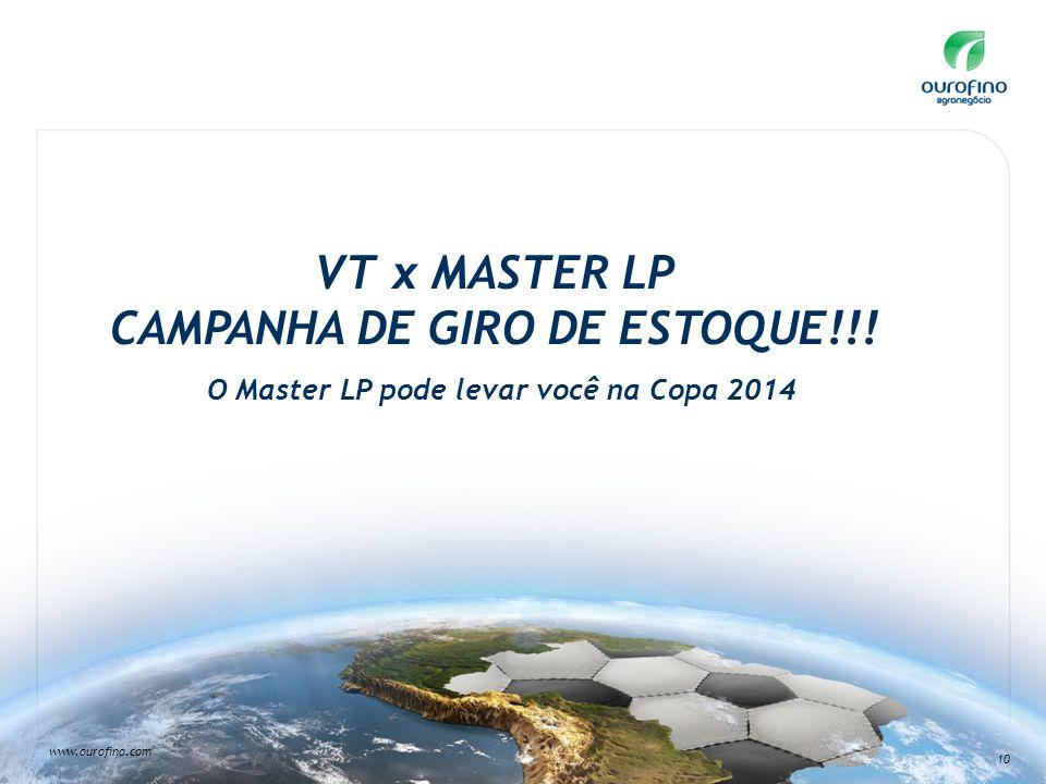 VT x MASTER LP CAMPANHA DE GIRO DE ESTOQUE