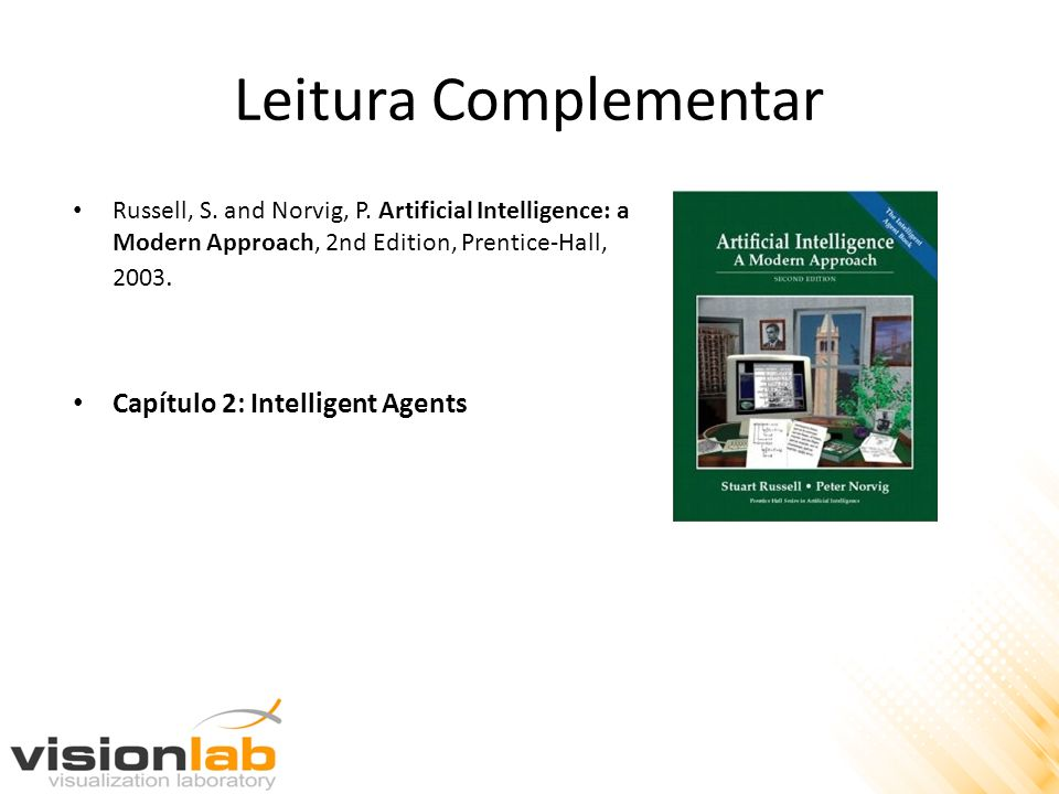 Leitura Complementar Capítulo 2: Intelligent Agents