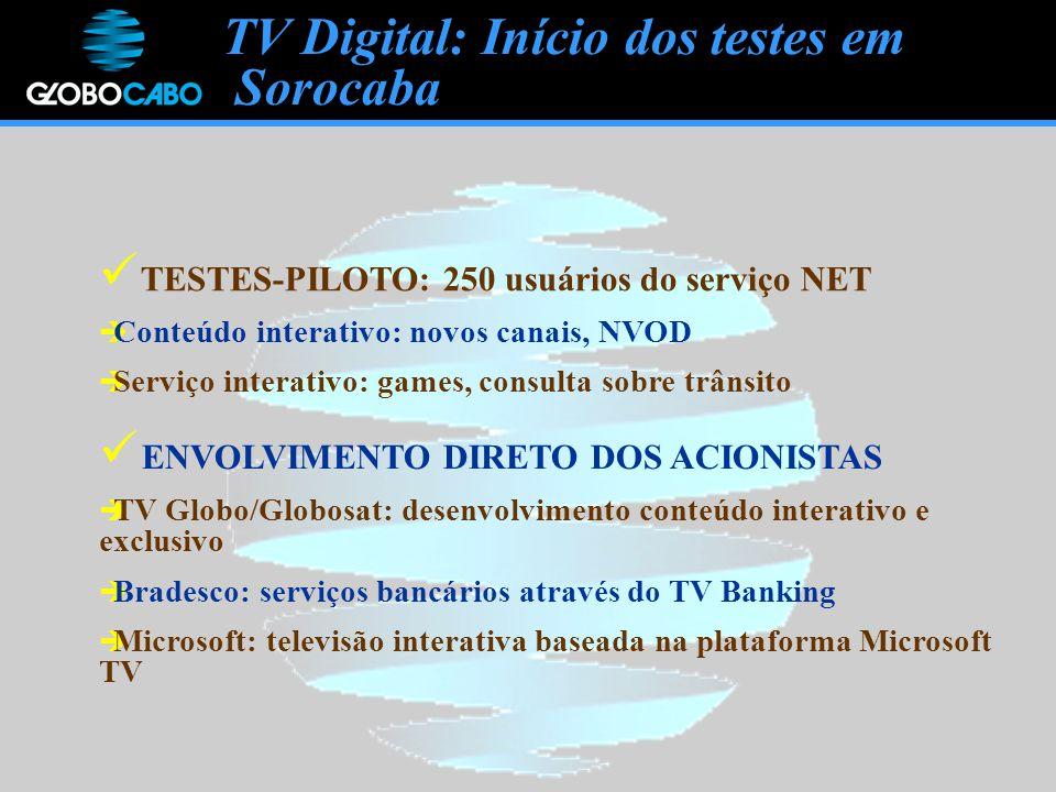 TV Digital: Início dos testes em Sorocaba