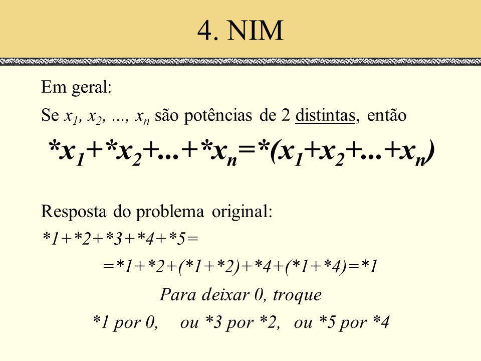 *x1+*x2+...+*xn=*(x1+x2+...+xn)