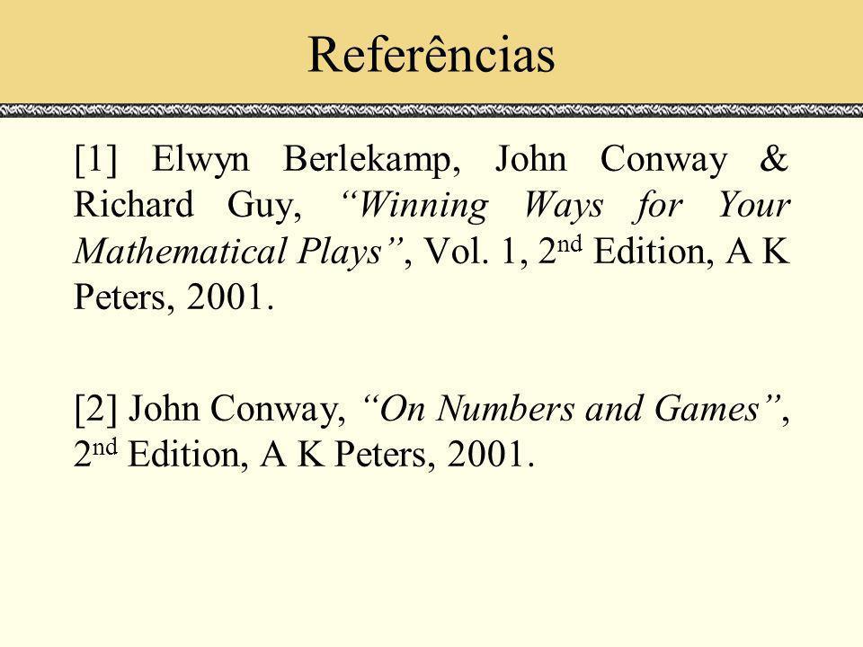Referências Espaços de Escala. Julho 2000.