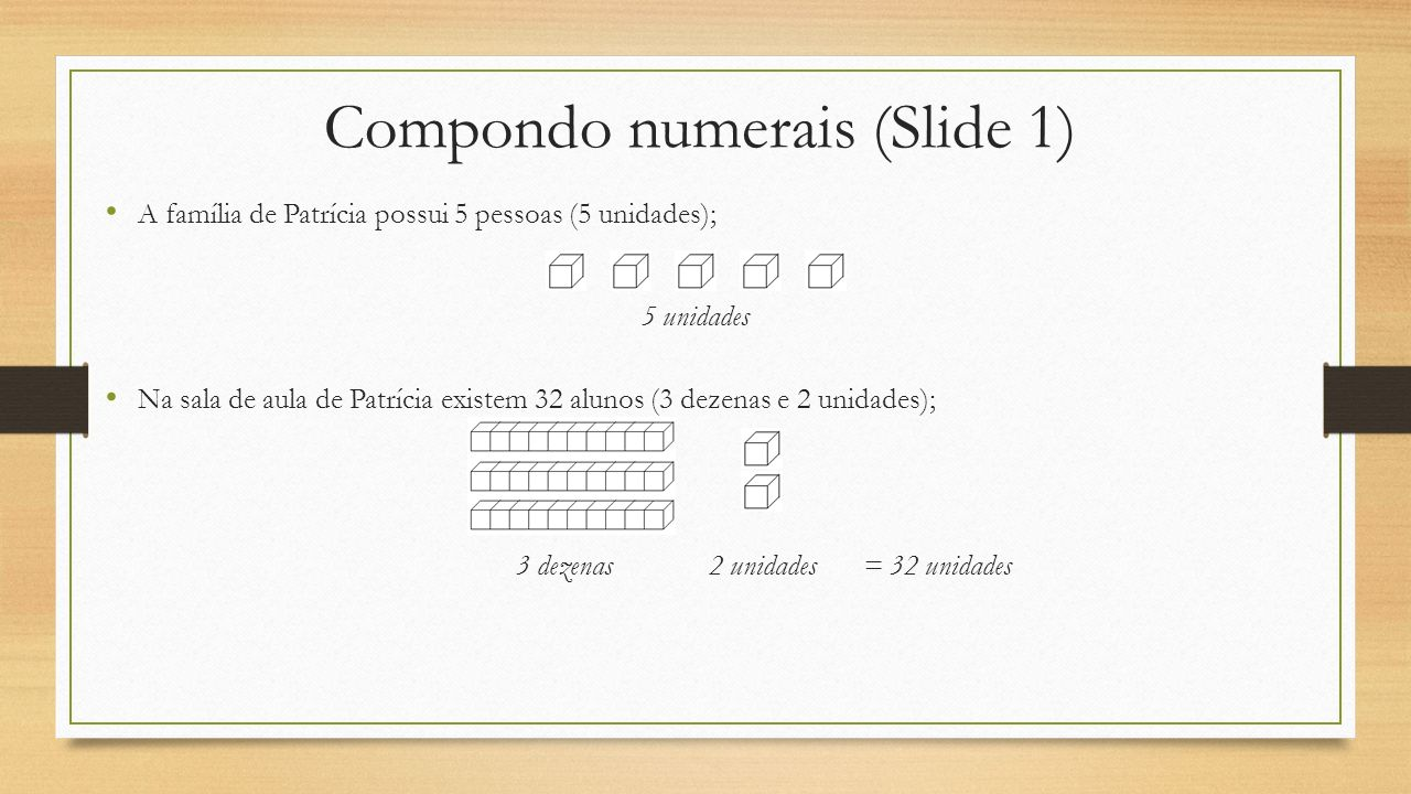 Compondo numerais (Slide 1)