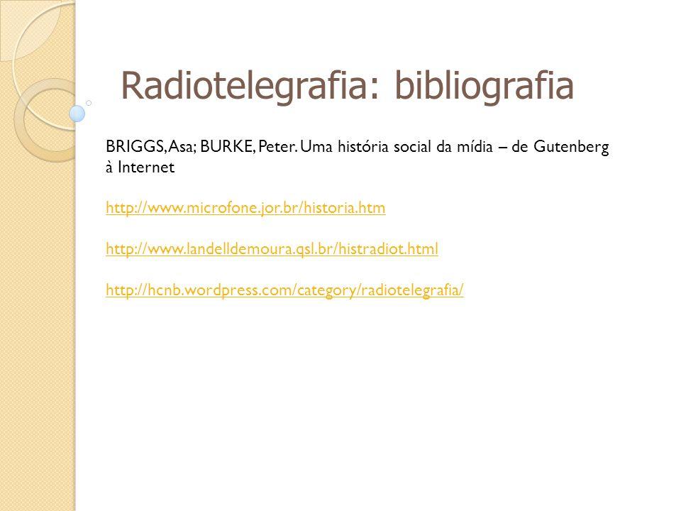 Radiotelegrafia: bibliografia