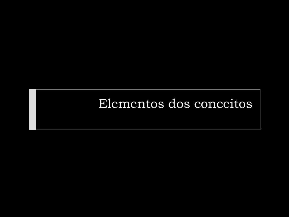 Elementos dos conceitos