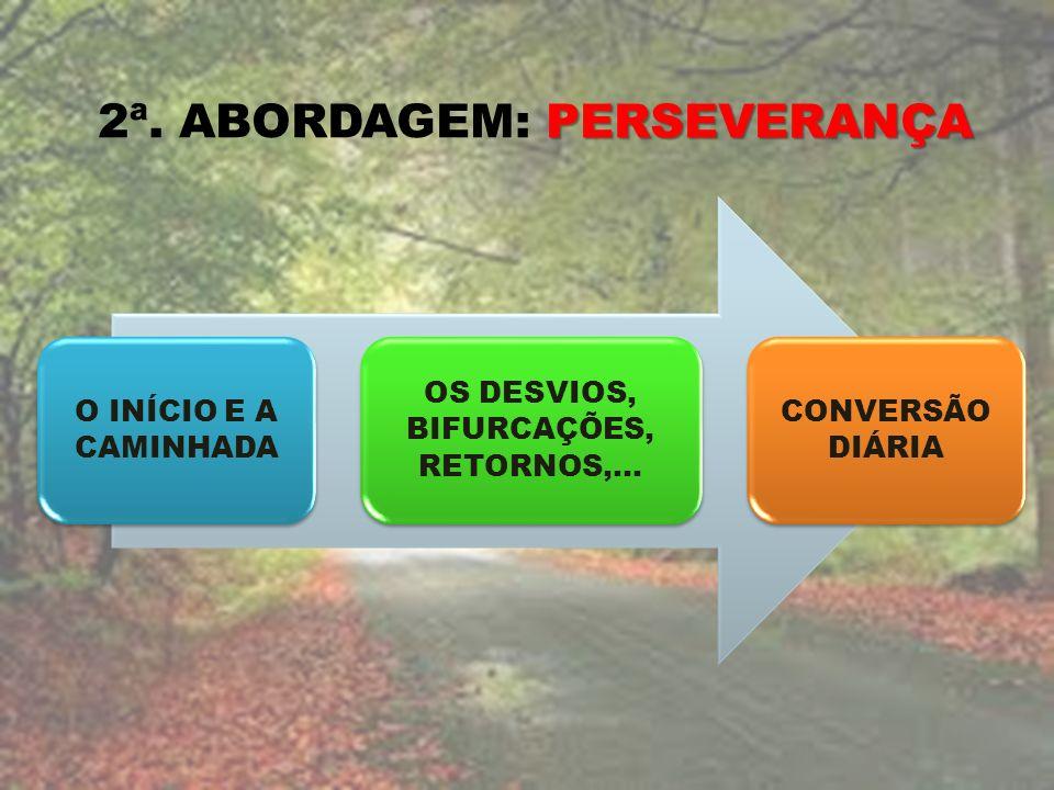 OS DESVIOS, BIFURCAÇÕES, RETORNOS,...