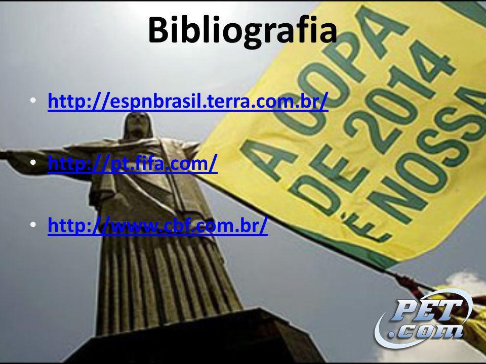 Bibliografia http://espnbrasil.terra.com.br/ http://pt.fifa.com/