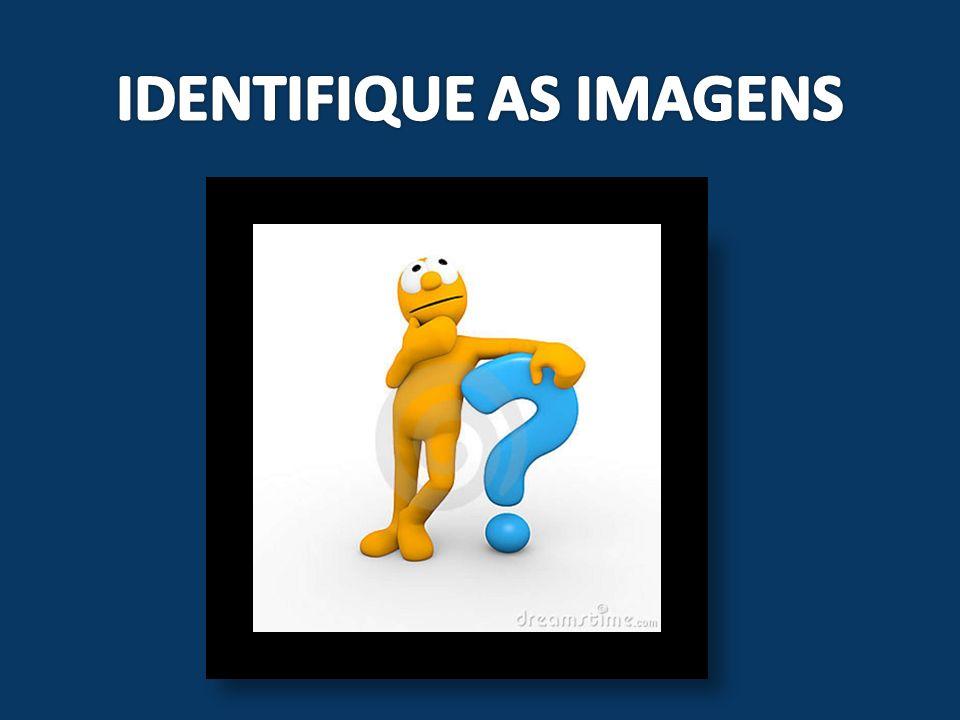 IDENTIFIQUE AS IMAGENS