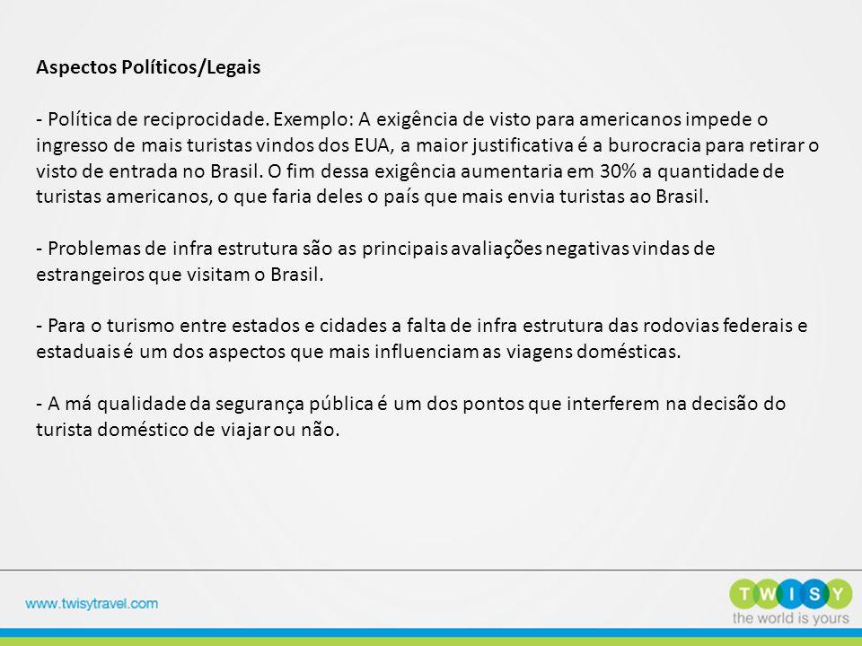 Aspectos Políticos/Legais - Política de reciprocidade
