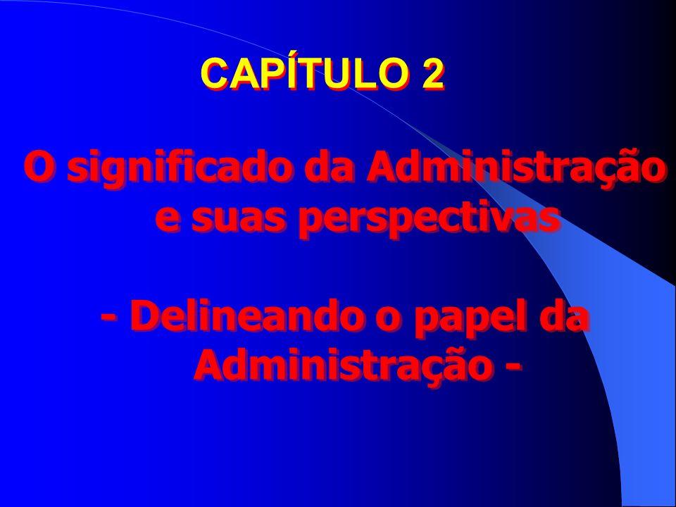 O significado da Administração e suas perspectivas