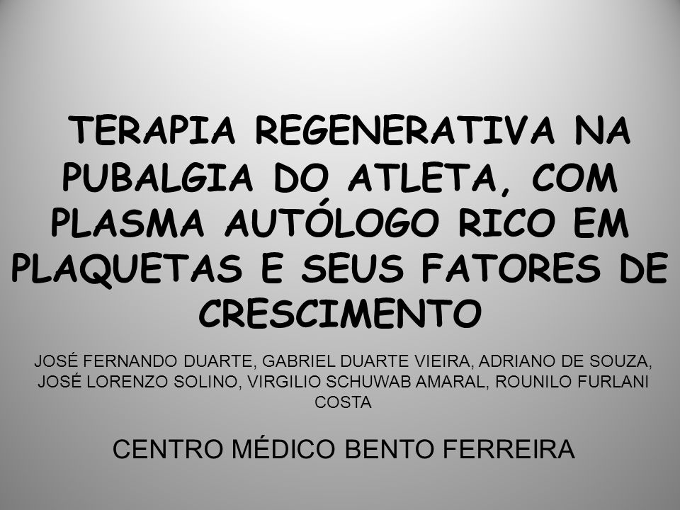 CENTRO MÉDICO BENTO FERREIRA