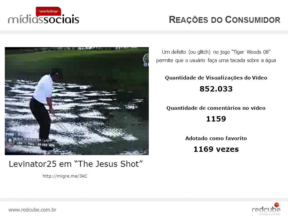 Reações do Consumidor Levinator25 em The Jesus Shot 852.033 1159