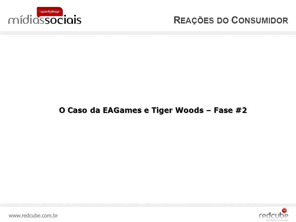 Reações do Consumidor O Caso da EAGames e Tiger Woods – Fase #2