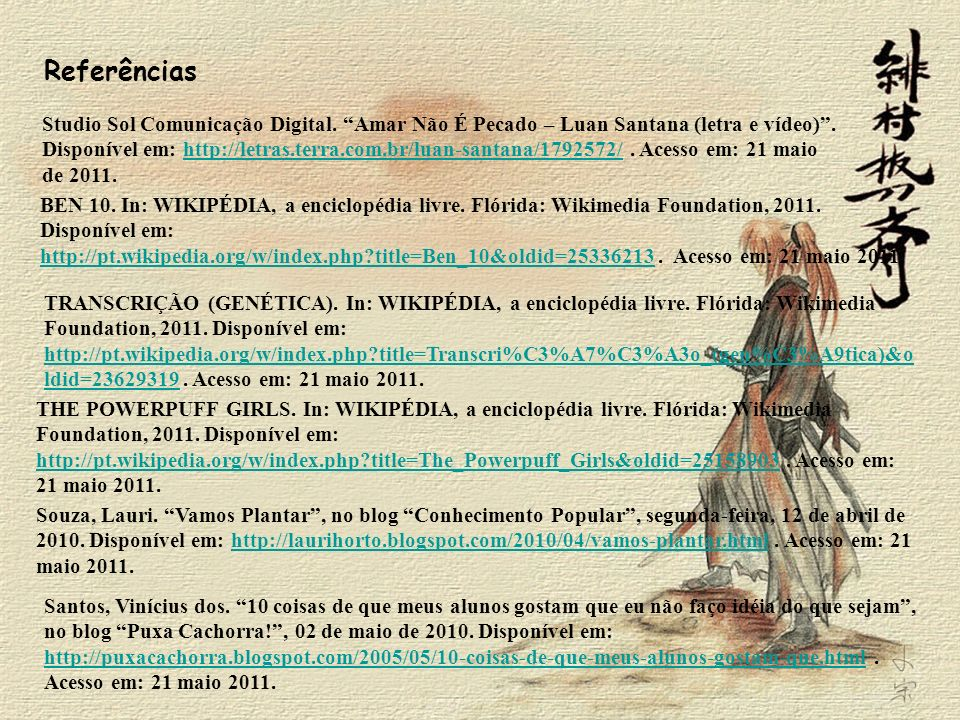 Referências Studio Sol Comunicação Digital. Amar Não É Pecado – Luan Santana (letra e vídeo) .