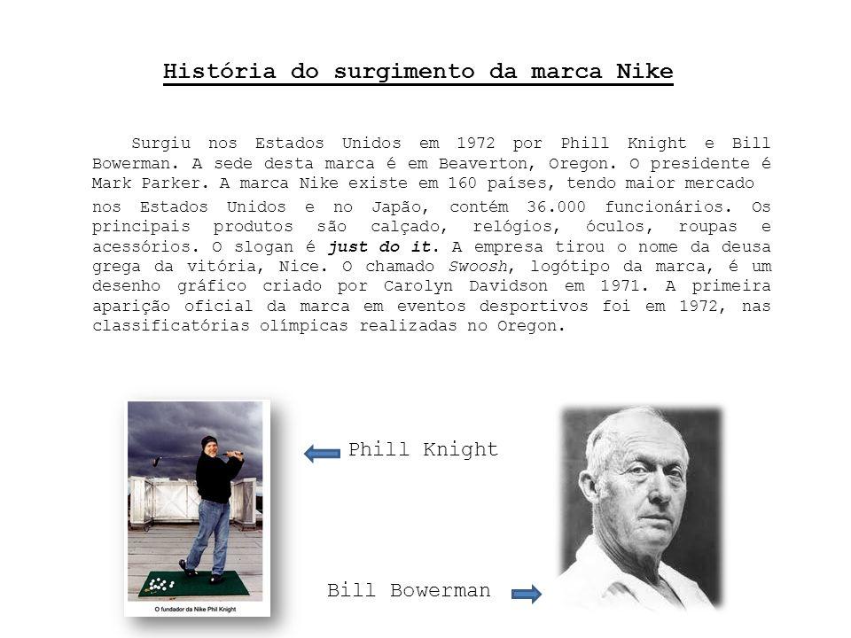 História do surgimento da marca Nike
